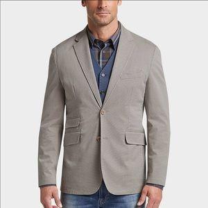 Joseph Abboud Light Tan Tic Casual Coat